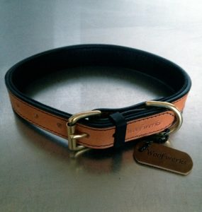 The Black and Tan - Premium Leather Collar